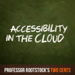 Accessibility in the Cloud