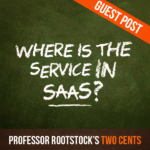 Where is the Service in SaaS?